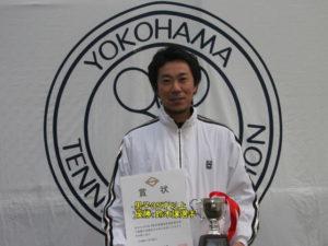 第37回シングルス大会男子35才優勝者