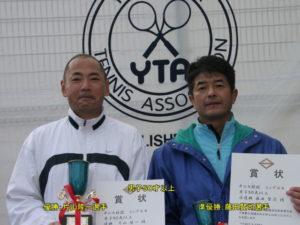 第37回シングルス大会男子50才優勝者
