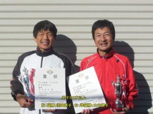 第38回シングルス大会男子50才優勝者