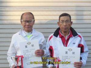 第38回シングルス大会男子75才優勝者