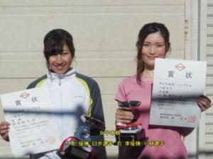第38回シングルス大会一般女子優勝者