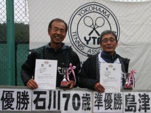 第43回シングルス大会男子70才優勝者
