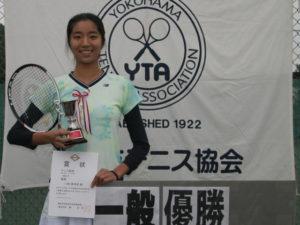 第43回シングルス大会一般女子優勝者